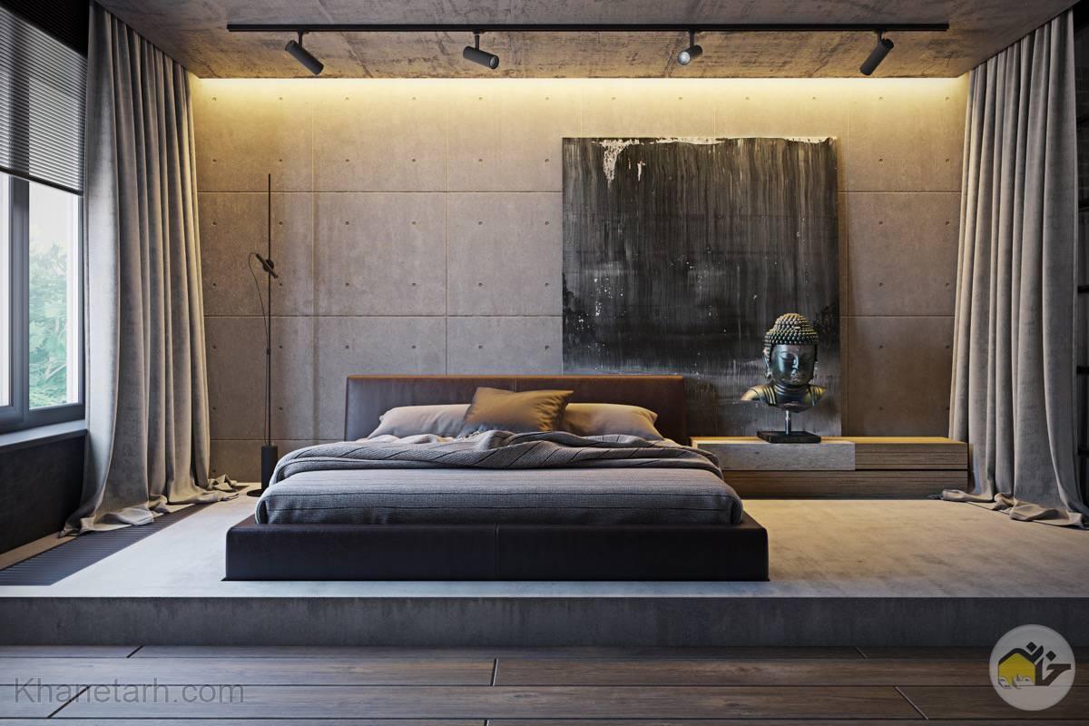 طراحی اتاق مستر