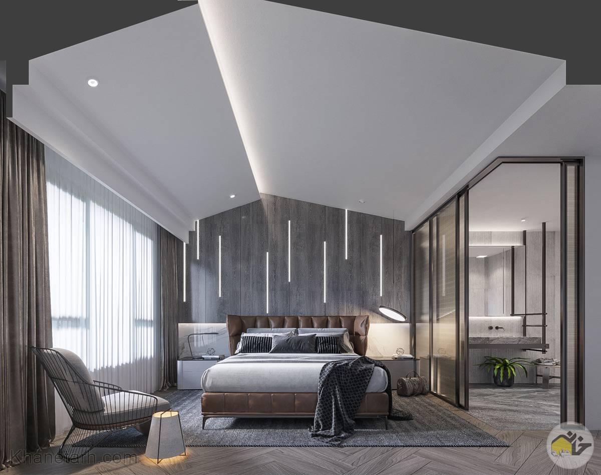 طراحی سقف اتاق خواب مستر