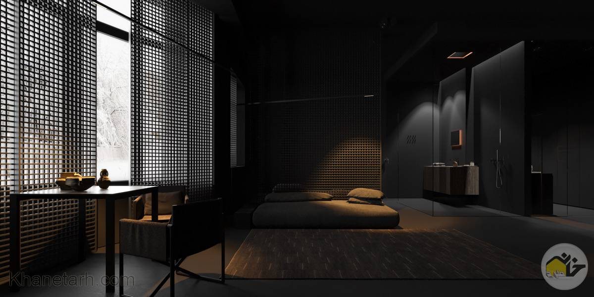 عکس اتاق خواب مستر