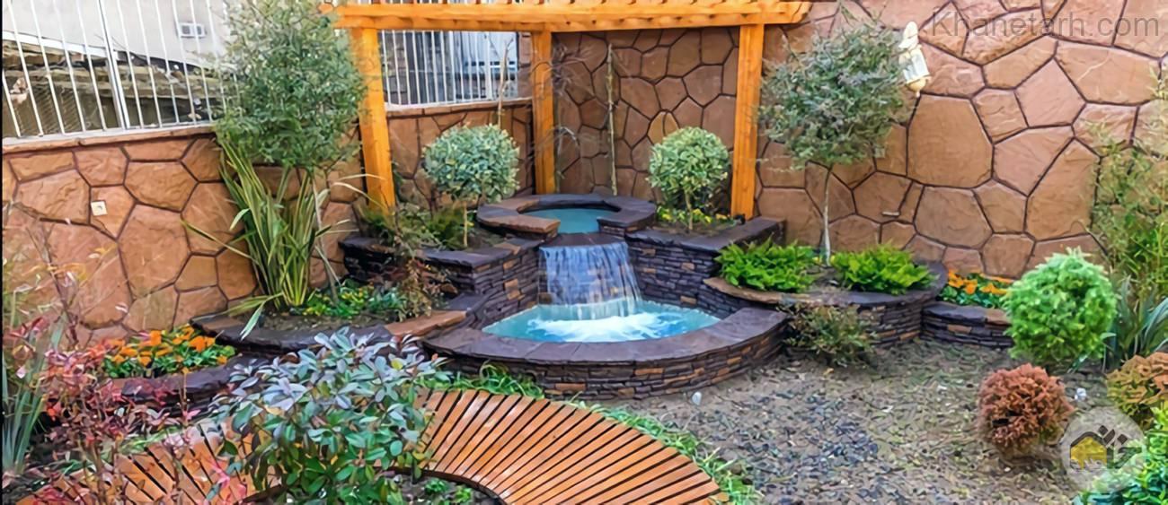 آموزش ساخت آبنما در حیاط خانه