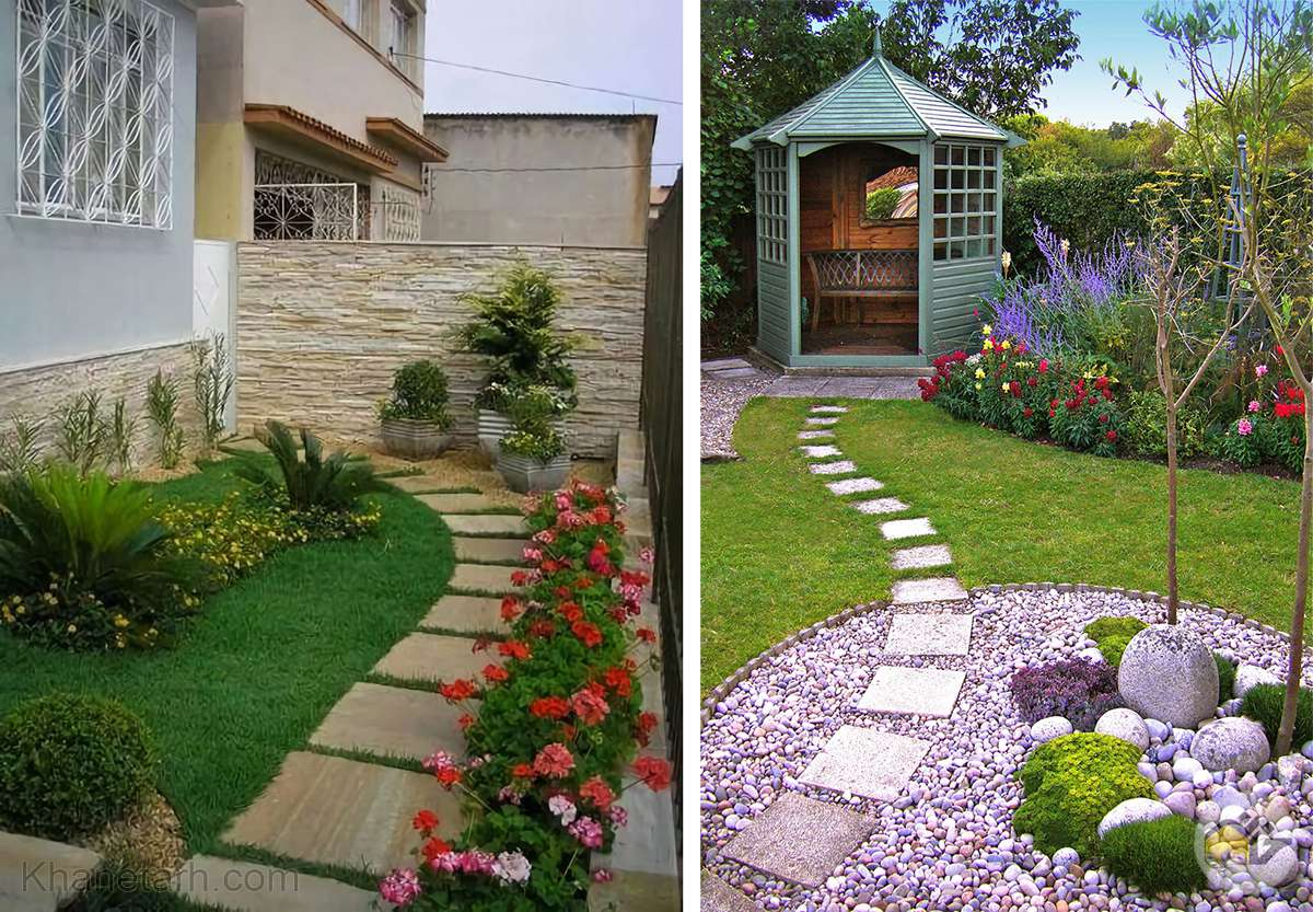 باغچه سازی ویلا
