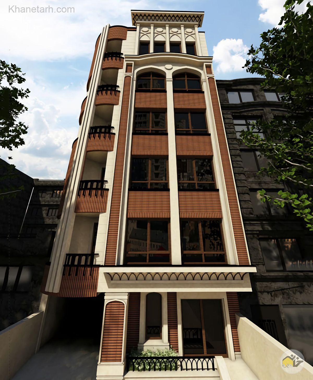 عکس نمای ساختمان