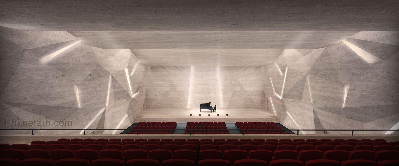طراحی کنسرت هال