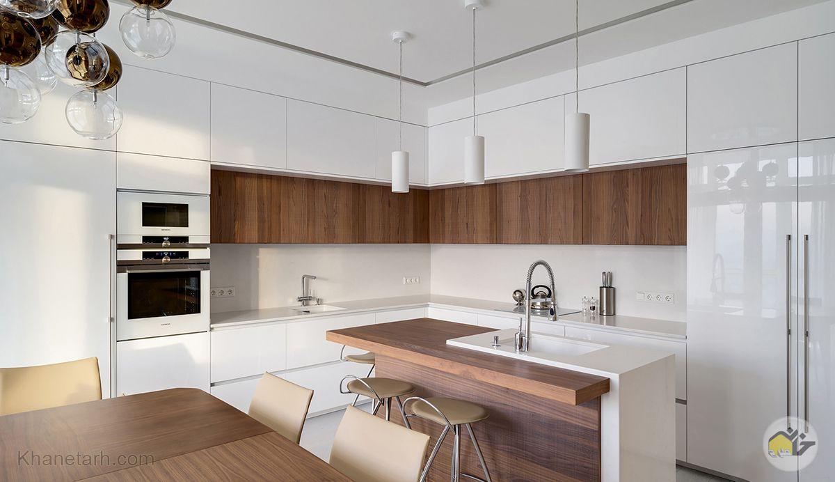 نمای آشپزخانه مدرن