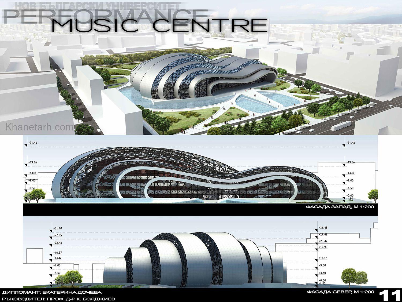 طراحی سالن موسیقی