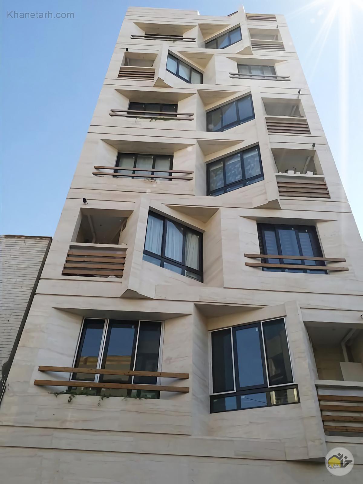 نمای ساختمان جنوبی