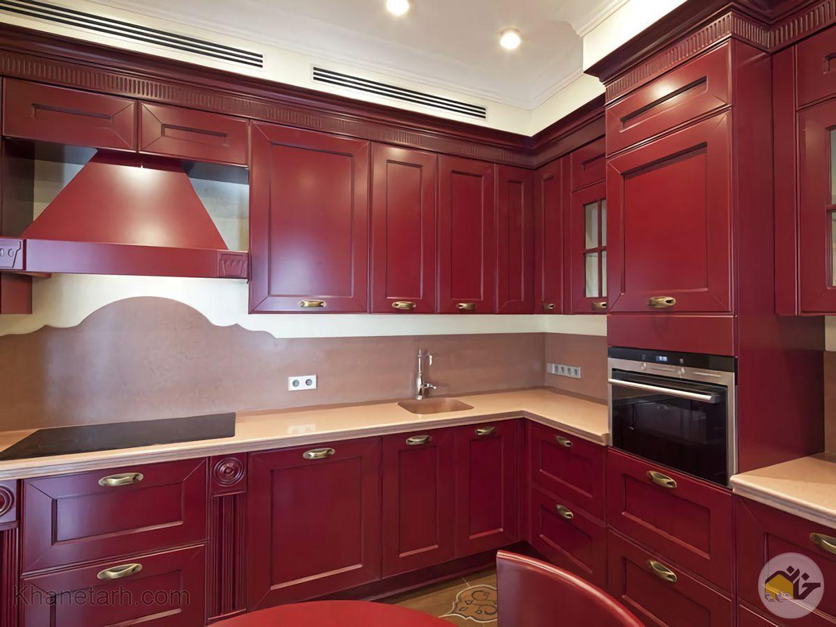 رنگ آشپزخانه