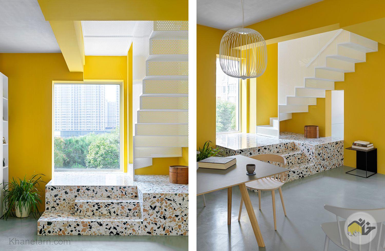 طراحی دکوراسیون زرد