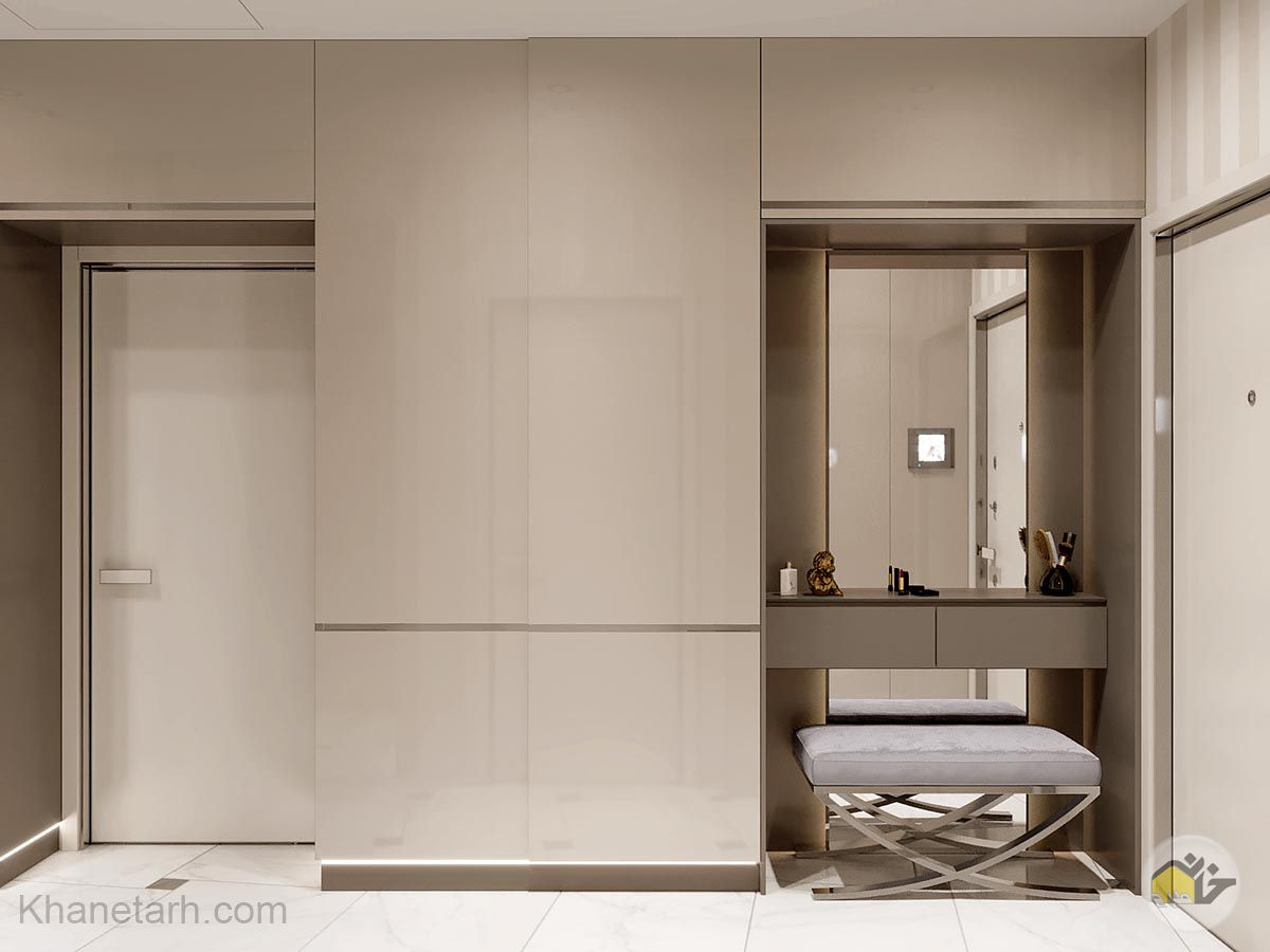 طراحی یک خانه 80 متری