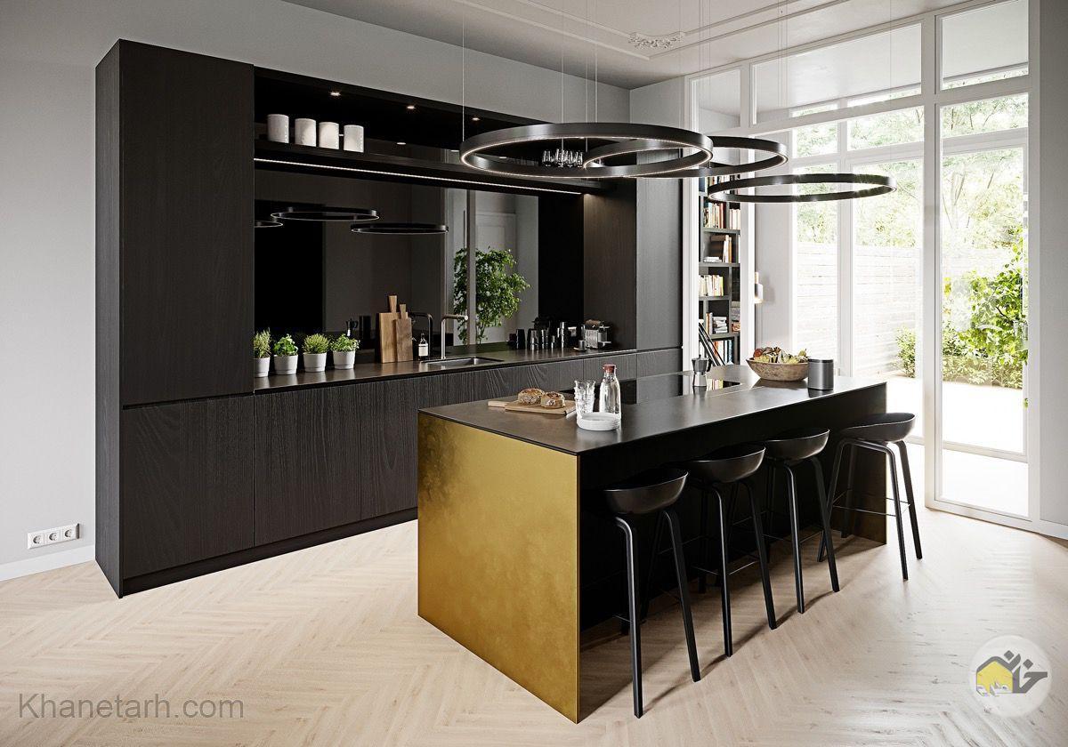 مدل کابینت آشپزخانه لوکس