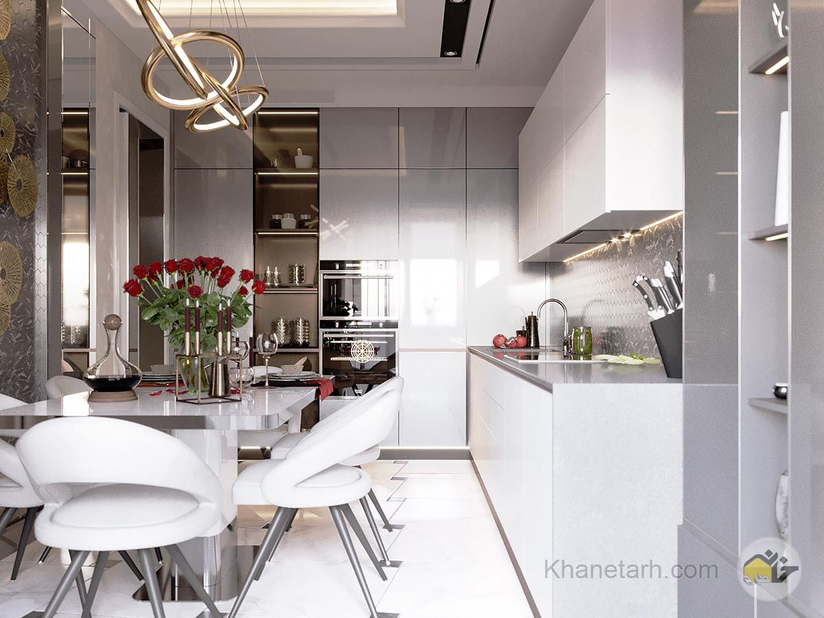 طراحی منزل مدرن 80 متری