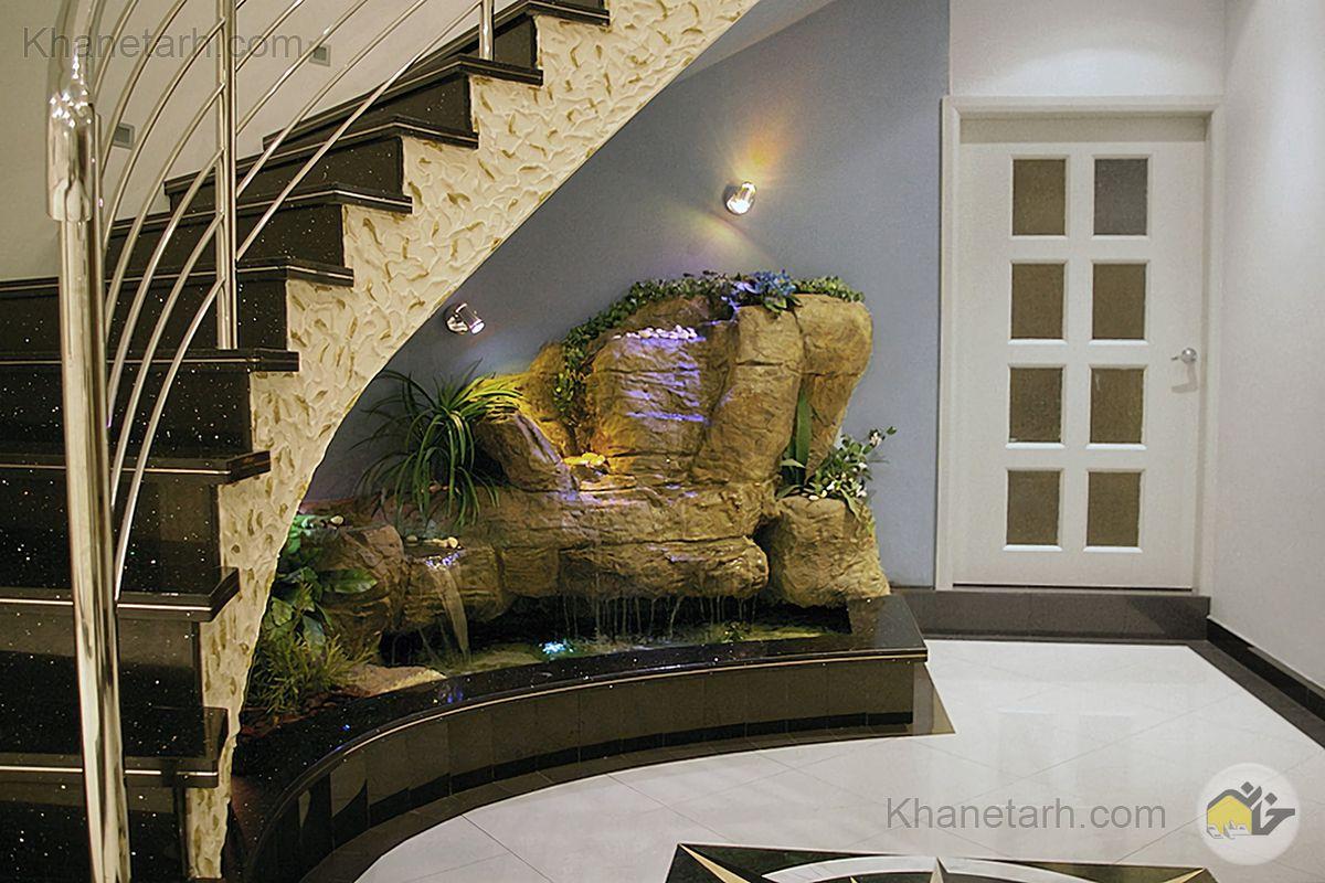 طراحی زیر پله گرد