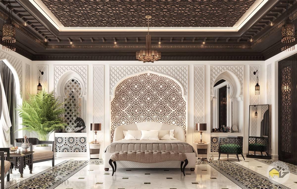 عکس طراحی اتاق خواب لاکچری