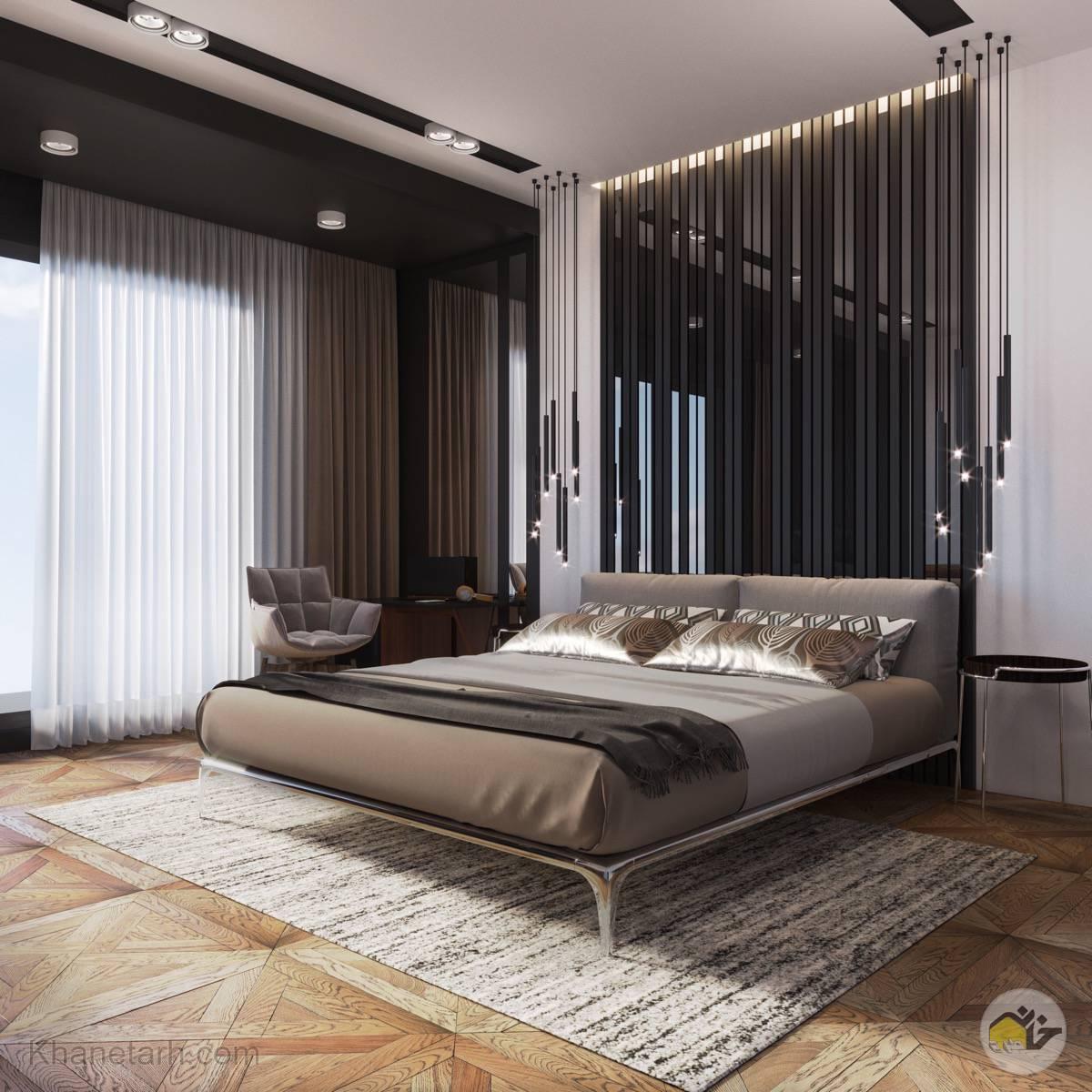 عکس طراحی اتاق خواب لوکس