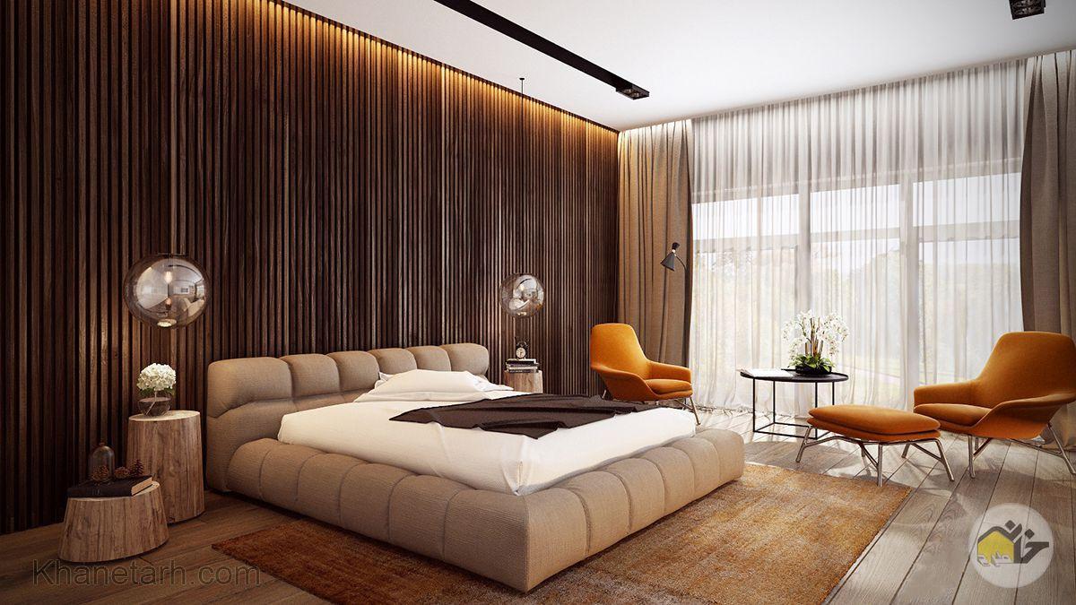 نورپردازی اتاق خواب لوکس