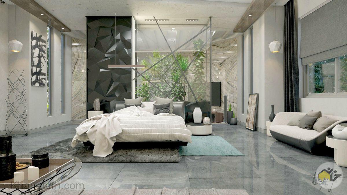 اتاق خواب لاکچری