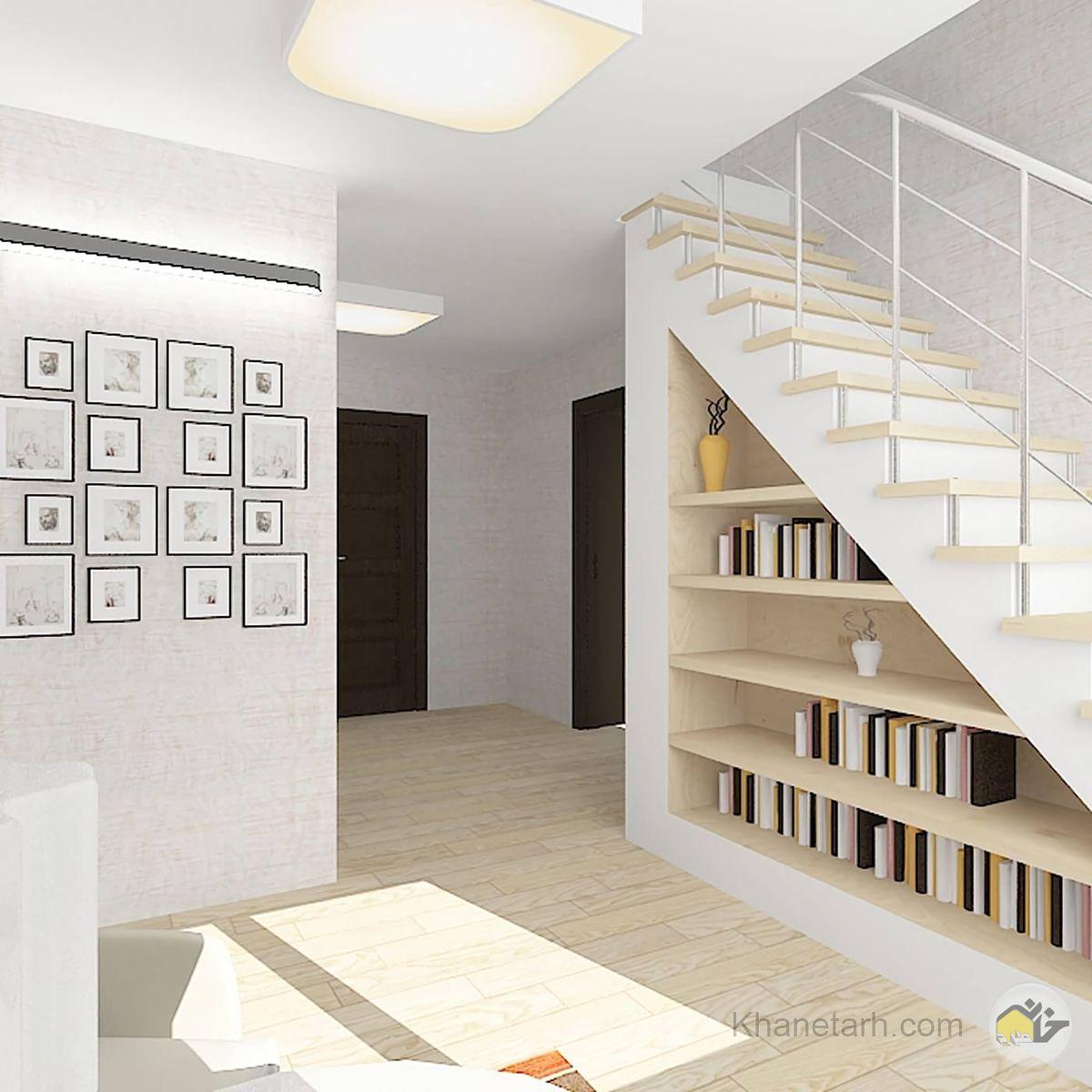 طراحی زیر پله