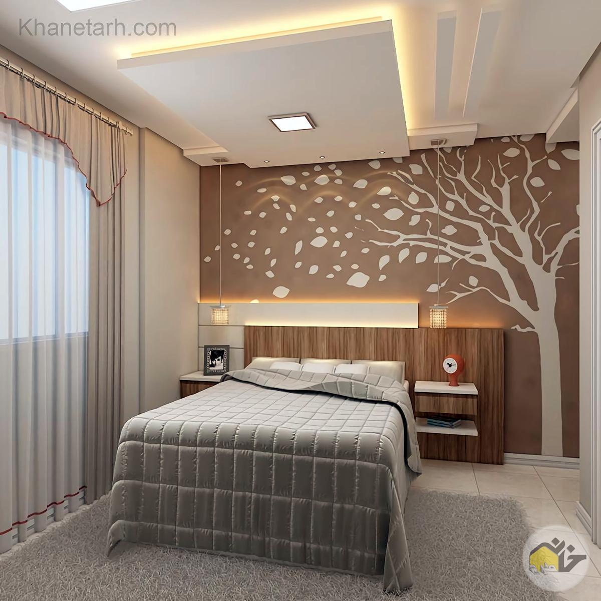 طرح کناف اتاق خواب