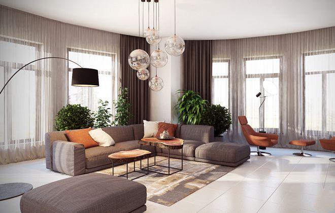 طراحی داخلی منزل مدرن