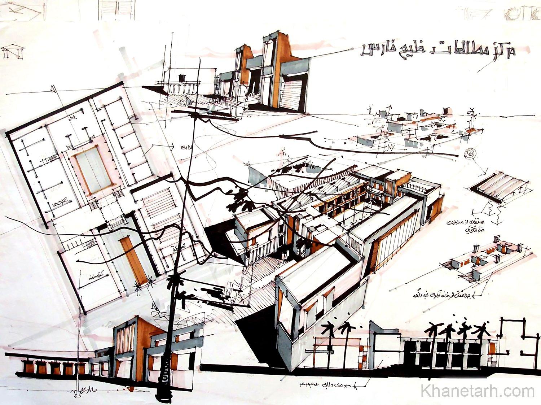 نمونه شیت های معماری