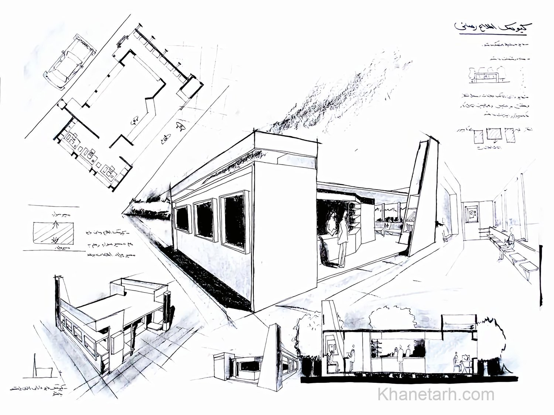 شیت بندی دستی معماری