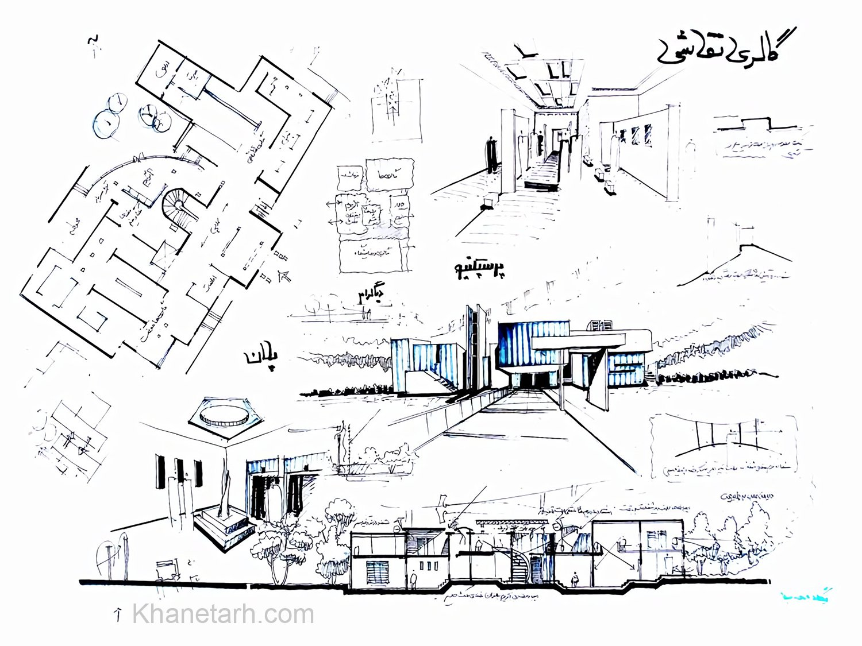 شیت بندی معماری دستی