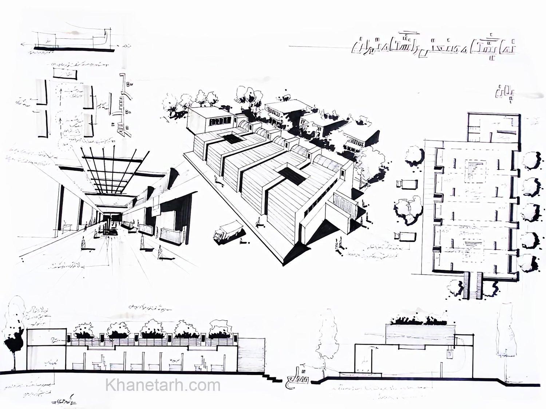 نمونه شیت معماری