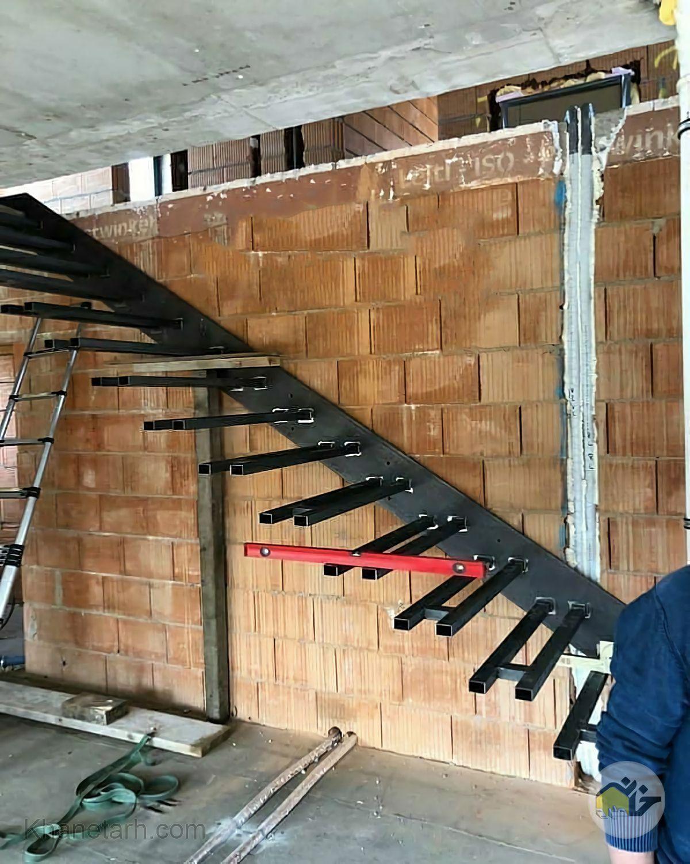 مدل پله داخل ساختمان