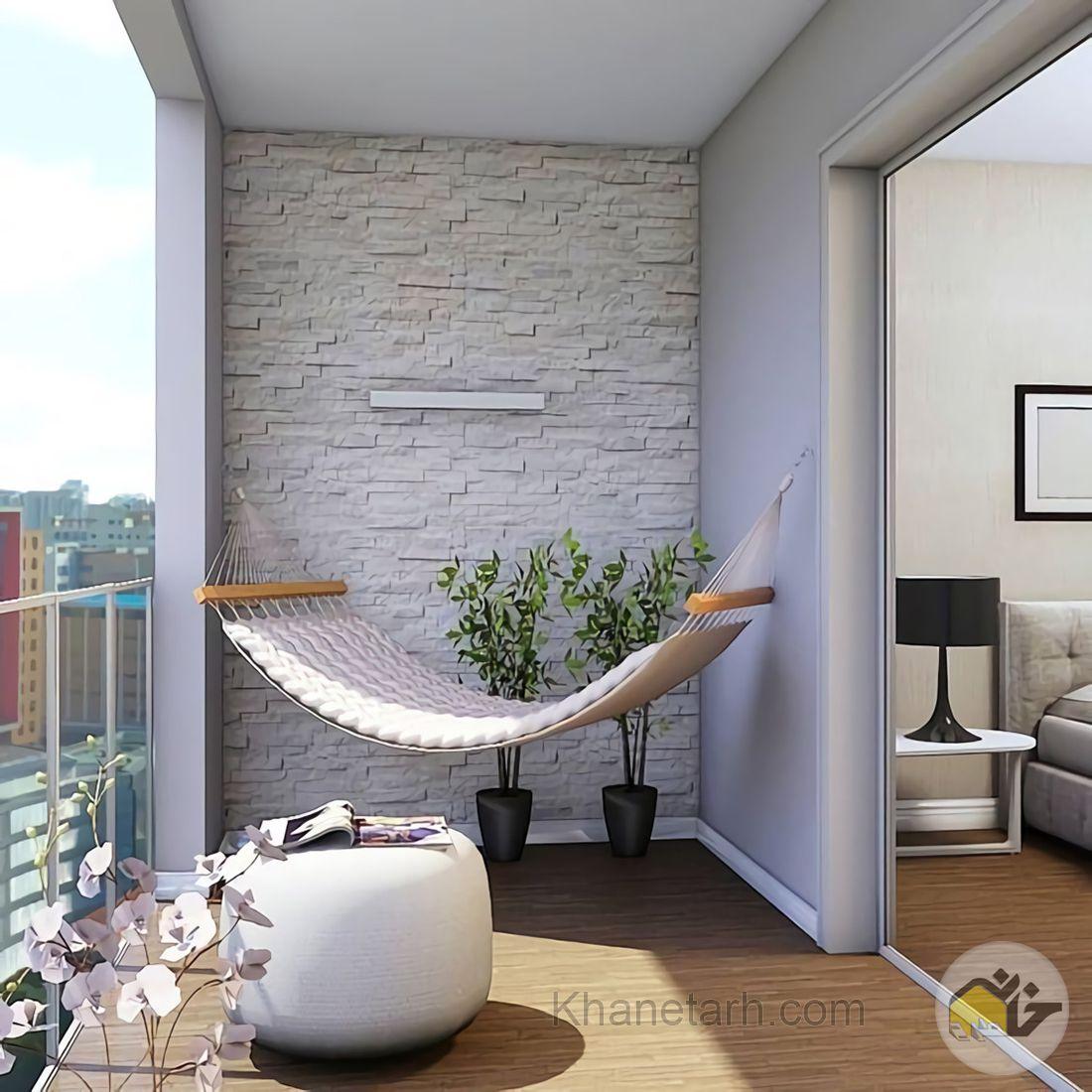 طراحی بالکن آپارتمان