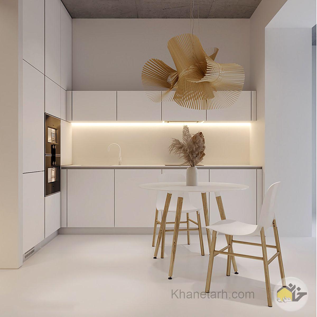 طراحی آشپزخانه کوچک