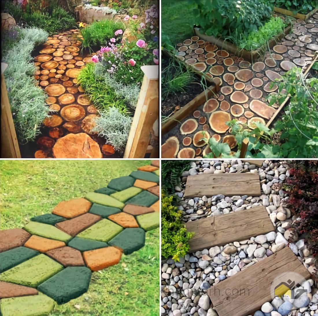 طراحی کف حیاط
