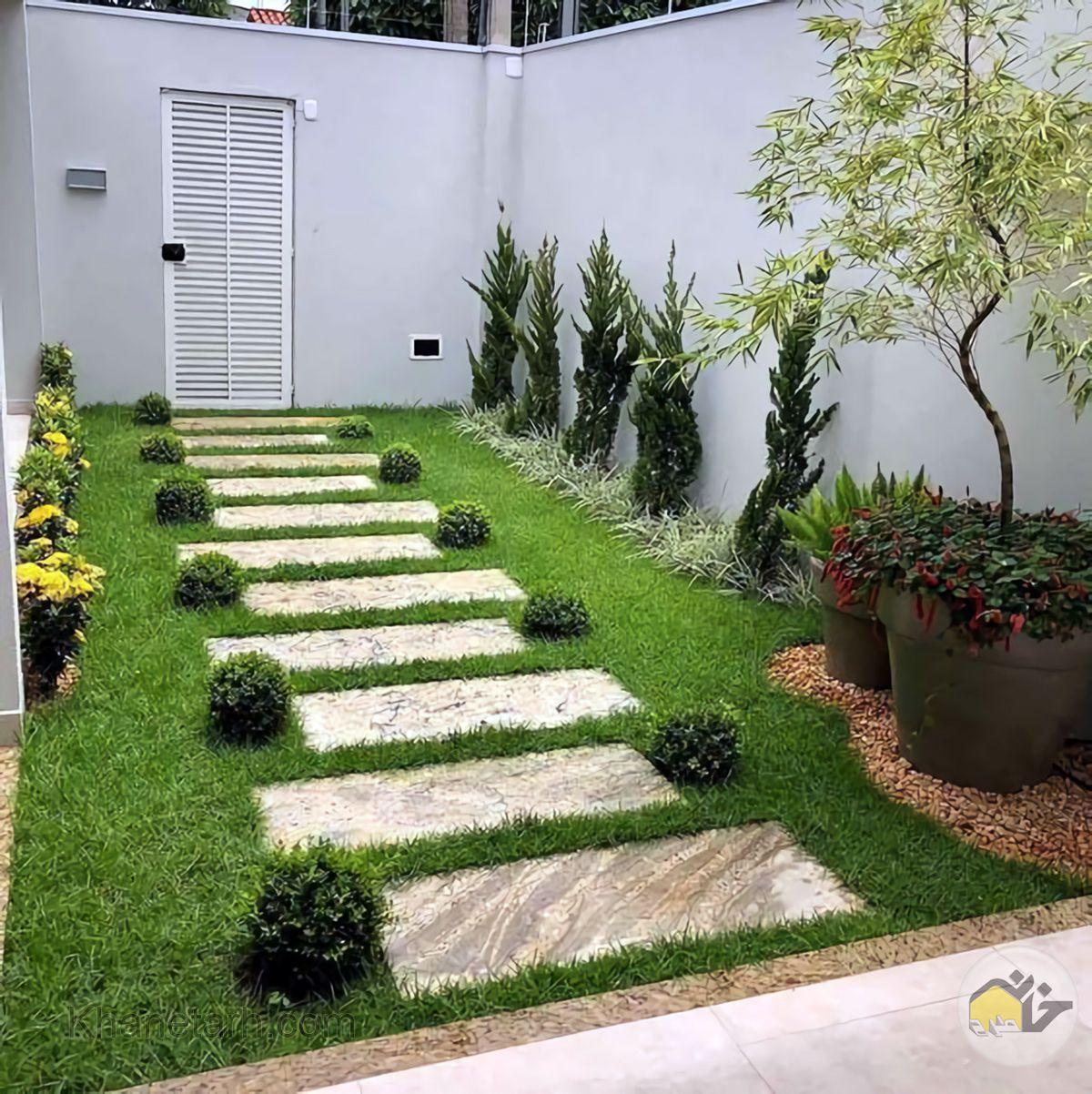 طراحی حیاط خانه